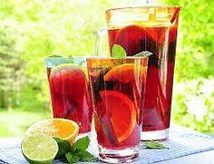 Fat Fast Shrinking Signal - Ponche de frutas - Do This One Unusual Trick Before Work To Melt Away Pounds of Belly Fat Refreshing Drinks, Summer Drinks, Summer Sangria, Summer Bbq, Summer Fruit, Summer Garden, Summer Time, Detox Kur Plan, Party Drinks