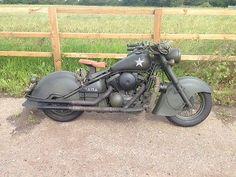 eBay: Military Army US Motorbike Motorcycle Kawasaki Drifter VN800 WLA Indian Harley #harleydavidson ukdeals.rssdata.net