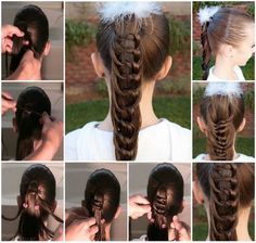 Knotted Ponytail!