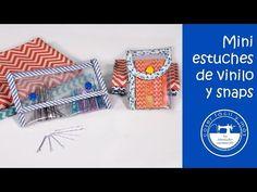 """El blog de """"Coser fácil y más by Menudo numerito"""" - Costura creativa: Más ideas con vinilo y snaps"""