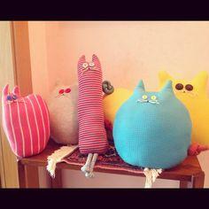 Cat cushion & pillow ideas by Rossana
