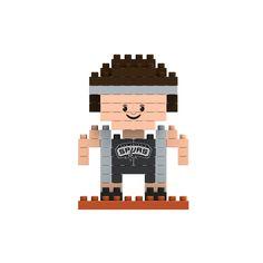 San Antonio Spurs NBA 3D BRXLZ Puzzle Blocks - Player