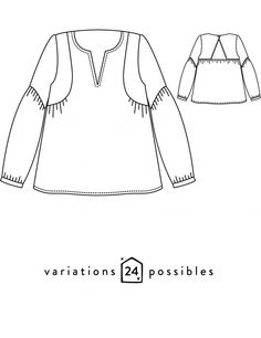 29169cc8e767 Blouse ou robe femme Petites Choses patron de couture pochette avec vidéo  gratuite