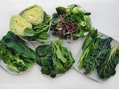 are the most common Chinese greens, and how to cook them? We break it down, with recipes for methods like stir-frying with garlic or fermented black beans, poached and served with a drizzle of oyster sauce, and served in a rich broth. Vegetable Dishes, Vegetable Recipes, Vegetarian Recipes, Cooking Recipes, Healthy Recipes, Cooking Stuff, Eat Healthy, Chinese Greens, Chinese Cabbage