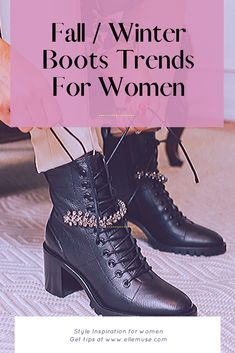 Best Fall and Winter Boot Fashion and Trends for mature women over Warm Boots, Cool Boots, Winter Boots, Ballerinas, Under The Knee Boots, Slouchy Boots, Embellished Shoes, Stylish Sandals, Everyday Shoes