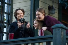 chloë grace moretz, jamie blackley, and liana liberato