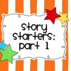 This download includes a booklet (with a boy cover and a girl cover) that has 46 story starters / writing prompts for elementary students. Unlike w...