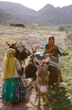 Bruno Barbey Iran - Nomads in the 70s