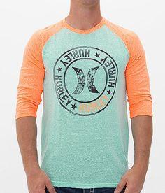 Hurley Raptor T-Shirt - Men's T-Shirts in Aqua Hurley Clothing, Gents Fashion, Men's Wardrobe, Suit And Tie, Boys T Shirts, Mens Clothing Styles, Swagg, Streetwear Fashion, Men Dress