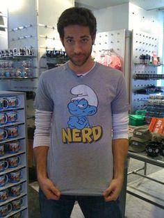 I LOVE THIS MAN!!!  Zachary Levi...aka Chuck
