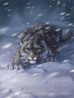 Fantasy cats are beautiful