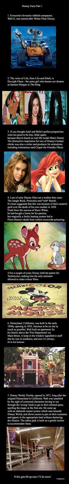 A few interesting Disney facts