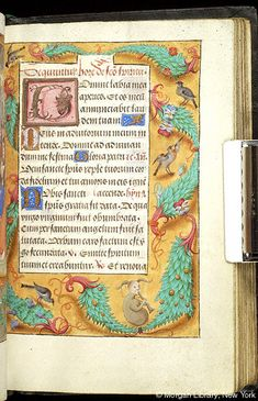 Book of Hours, MS M.390 fol. 120r - Images from Medieval and Renaissance Manuscripts - The Morgan Library & Museum