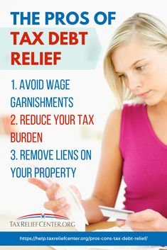 The idea of tax debt relief in the form of the IRS debt forgiveness program sounds like a lifeline. Is it the right choice for your tax issues? Tax Debt Relief, Types Of Taxes, Tax Help, Debt Consolidation, Tax Refund, Property Tax, Get Out Of Debt, Money Management, Getting Out
