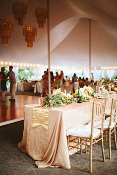 glam handcrafted Virginia wedding reception - photo by Kaytee Lauren