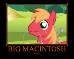 Big Macintosh Mlp, Big Macintosh, Apple Farm, Girl Boards, Having A Bad Day, My Little Pony Friendship, True Colors, Pixar, Pikachu