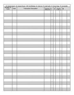 Printable Checks, Templates Printable Free, Printable Planner, Free Printables, Printable Calendars, Card Templates, Printable Check Register, Business Card Template Photoshop, Budget Spreadsheet Template