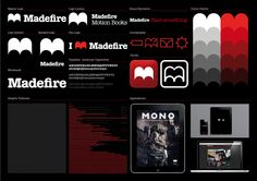 Logo and Brand Identity for Madefire by Moving Brands - BP&O Design Logo, Id Design, Identity Design, Visual Identity, Brand Identity, Logo Branding, Logos, Graphic Design, Corporate Design