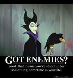 got enemies?