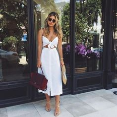Such a cool dress for hot summer days!