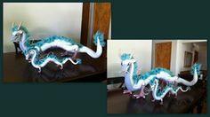 Free Pattern: Crochet Dragon Haku from Miyazaki. Wow. You got to be kidding me! Source: aphid777 on deviantART