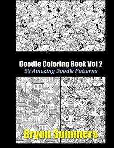 Doodle Coloring Book Vol 2 By Penny Farthing Graphics
