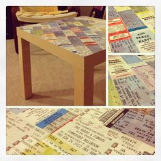 i knew there was a reason i kept all those ticket stubs...