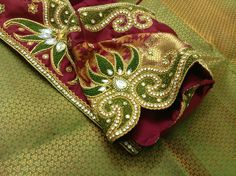 Simple Blouse Designs, Saree Blouse Designs, Lotus Design, Work Blouse, Siri, Animals And Pets, Stitching, Blouses, Embroidery