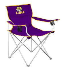 LSU Tigers NCAA Deluxe Folding Chair