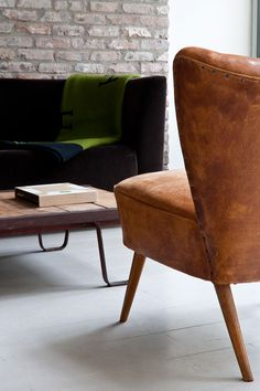 The handcrafted armchair