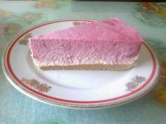 Malinová tvarohová zvírená torta - recept Ukrainian Recipes, Ukrainian Food, No Bake Pies, Tuna, Cheesecake, Fish, Meat, Cheesecakes, Pisces