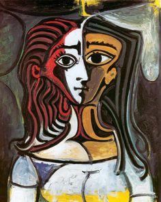 Pablo Picasso – Portrait of Jacqueline, 1960