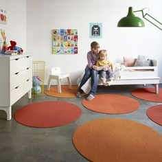 Flor Made You Look Round Rug, available in 72 colors