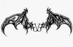 Black Veil Brides - On Leather Wings logo