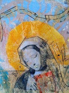 Virgin Mary by vitobizz on Etsy