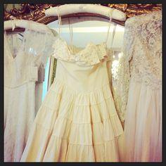Wedding dress heaven. Elizabeth Avey