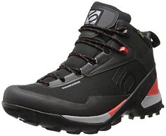 Five Ten Men's Camp Four Mid GTX Hiking Boot, Black/Red, 7 M US *** Want to know more, click on the image.