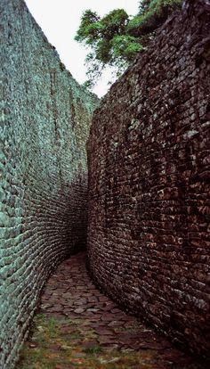 The Great Zimbabwe ruins are a huge complex of stone buildings in southern Zimbabwe, built between the 11th and 15th centuries.