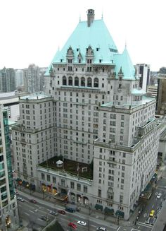 The Heathman Hotel in Portland. First time they slept together (innocently) (actually the Fairmont Hotel in Vancouver) Vancouver Hotels, Downtown Vancouver, Fairmont Vancouver, Vancouver Vacation, North Vancouver, Toronto, Fairmont Hotel, Days Hotel, York Hotels