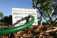 California Drought News: Australia-inspired solutions and the ... Grey Water System, Water Systems, Grey Water Recycling, Water Saving Tips, California Drought, Water Signs, Water Collection, Rain Barrel, Green Architecture