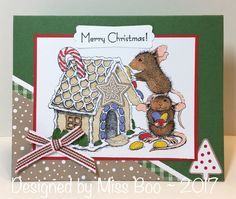 WT663 - Gingerbread House by Miss Boo - Cards and Paper Crafts at Splitcoaststampers