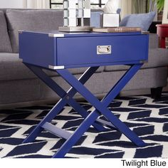 INSPIRE Q Kenton x Base Wood Accent Campaign Table