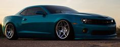 """There's a line in Macklemore & Lewis song """"Thrift Shop"""" that describes this ride accurately – """"this is fucking awesome"""". Pure American muscle car rides British """"0.08"""" R20 wheels from 3SDM. That wheel shop is seriously cool. #automotive #supercars #cars"""