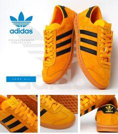 adidas Originals Hamburg: Yellow/Black
