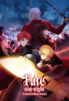 Fate/stay night: Unlimited Blade Works (TV) Seriously pretty art in this version