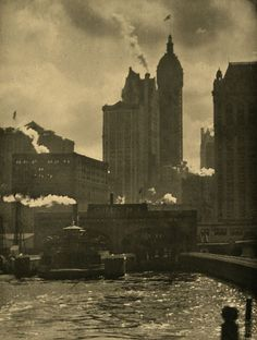Alfred Stieglitz. The City of Ambition. 1910 •●