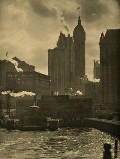 Alfred Stieglitz_The City of Ambition_1910