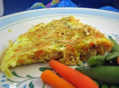 Veggie Frittata from Food.com:   This recipe comes from an Argentinian grocery store booklet.  In America this is more of a breakfast dish. In Argentina we never have it for breakfast  (we are to busy eating those fabulous Argentinian pastries) it is usually lunch or a light dinner, accompanied by a salad.
