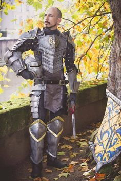 "elvhen-glory: ""mrbob0822: "" Grey Warden Armor by Arlek1 Cosplay & Creations I rarely post things that aren't mine, but I can't find this on Tumblr, and felt the need to share it. Absolutely gorgeous..."