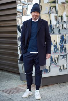 Sports luxe style at Pitti Uomo